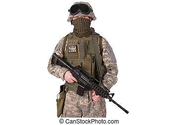 soldat, oss armé