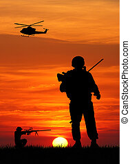 soldaten, kriegsbilder