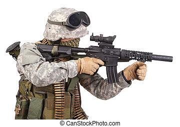 soldato, ci, forze speciali