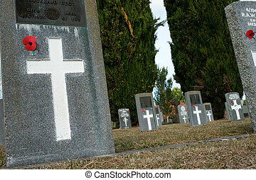 soldats, cemetery.