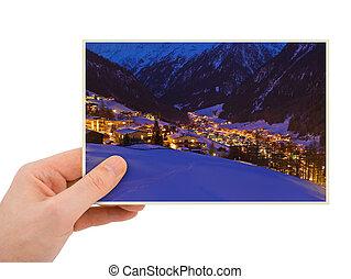 Solden Austria photography in hand