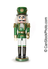 nutcracker - solder nutcracker on white background