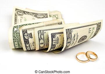 soldi, anelli, oro
