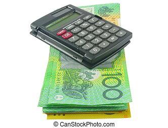 soldi, calcolatore