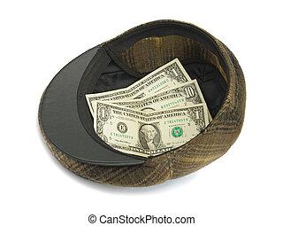 soldi, cappello