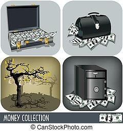 soldi, collezione