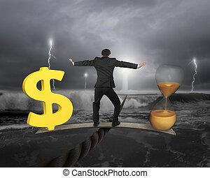 soldi, concept., tempo