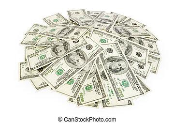 soldi, concetto, affari