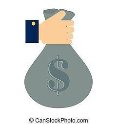 Parete investire dollaro contanti sfera strada mercato monetario casato - Soldi contanti a casa ...