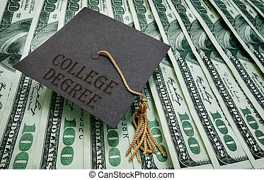 soldi, grado, università