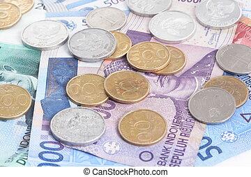 soldi, indonesiano, rupiah, -