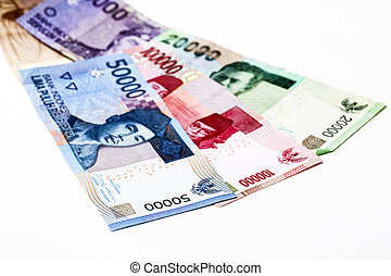 soldi, indonesiano, rupiah, fondo