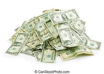soldi, mucchio