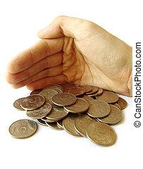 soldi, prendersi cura
