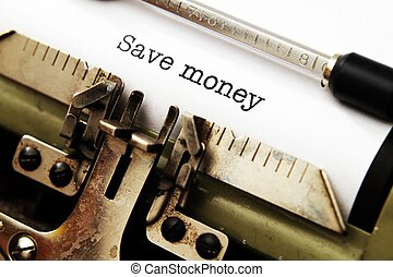 soldi, risparmiare