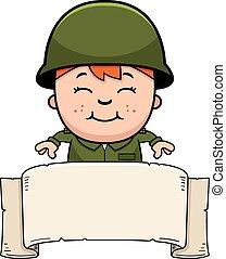 Soldier Boy Banner