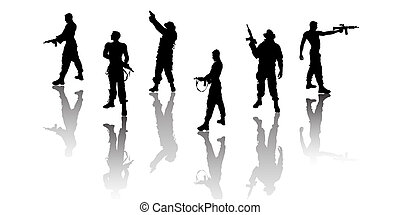 soldier group
