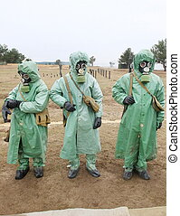 chemical protection suites