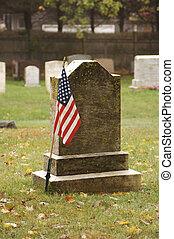 Soldier's grave