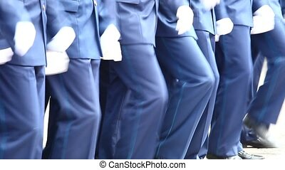 Soldiers marching 4