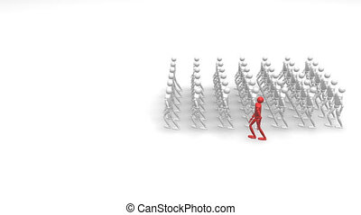 Soldiers Saluting in 3d - HD 3d animation of Soldiers...