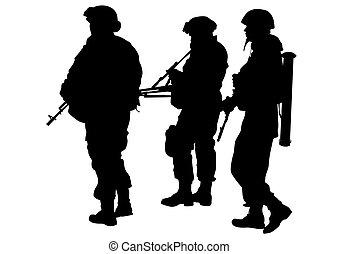 Soldiers uniform four