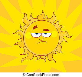 sole, arrabbiato