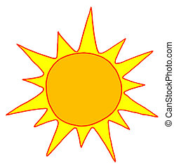 sole, caldo