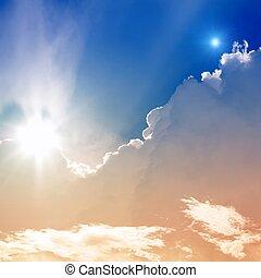 sole, cielo, stella
