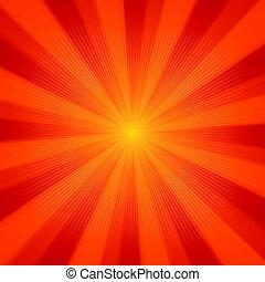 sole, fondo., luce, eps, 8
