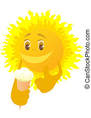 sole, gelato