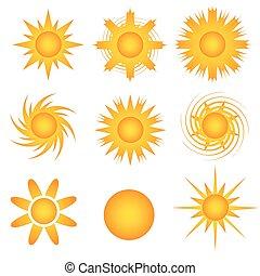 sole, icon-sunny
