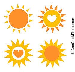 sole, iconerne