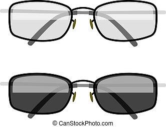 sole-protezione, occhiali