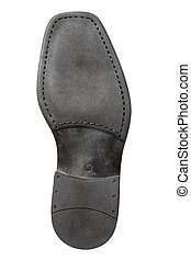 Sole - Rubber sole of a men\'s shoe