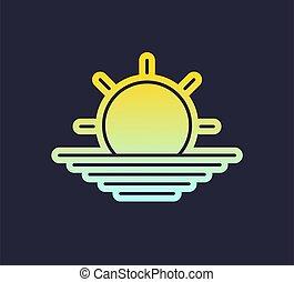 sole, simbolo, bello