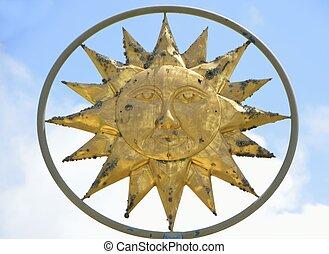 sole, simbolo, dio