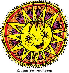 sole, simbolo