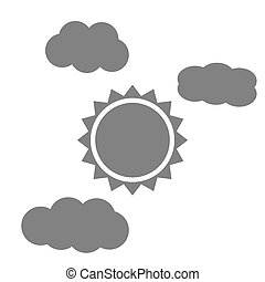 soleggi nubi