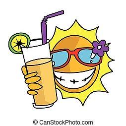soleil, été