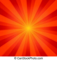soleil, arrière-plan., lumière, eps, 8