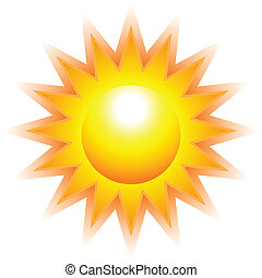 soleil, brûlé