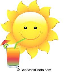 soleil, cocktail