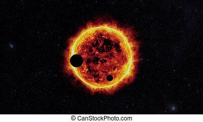 soleil, exoplanets