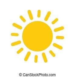 soleil, icône