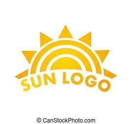 soleil, icon., logo