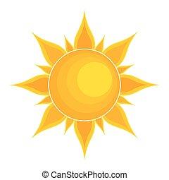 soleil,  Illustration