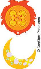 soleil, lune