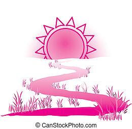 soleil, manière