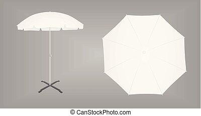 soleil, parapluie